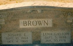 Lena Lillian <i>Gaston</i> Brown