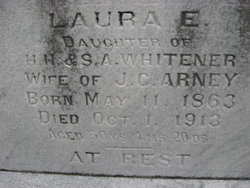 Laura E <i>Whitener</i> Arney