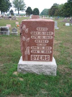 Elizabeth Betsey <i>Ames</i> Byers