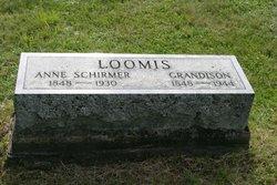 Anne <i>Schirmer</i> Loomis