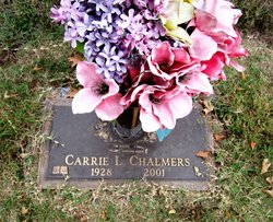 Carrie Lee <i>Williams</i> Chalmers