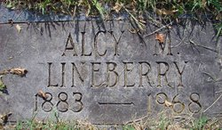 Alcy Margaret <i>Landreth</i> Lineberry