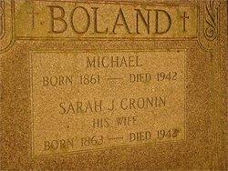 Sarah J. <i>Cronin</i> Boland