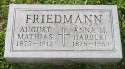 Anna M <i>Miller</i> Friedmann