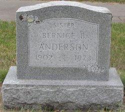 Bernice B Anderson