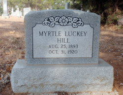 Myrtle <i>Luckey</i> Hill