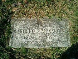 Gertrude <i>Schenck</i> Alexander