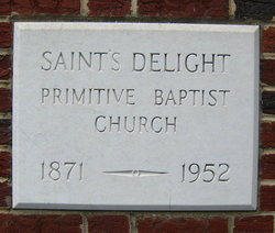 Saints Delight Primitive Baptist Church Cemetery
