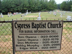 Cypress Baptist Church Cemetery
