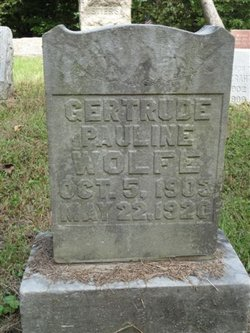 Gertrude Pauline Wolfe