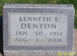 Kenneth Evans Kenny/K.E./Swede Denton