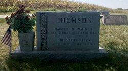 June Marie Ma June <i>Harlow</i> Thomson