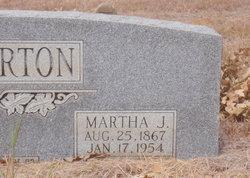 Martha Jane Mattie <i>Jackson</i> Pinkerton