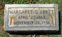 Margaret <i>Quisenberry</i> Abbitt