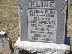 Jane <i>McElwee</i> Kline