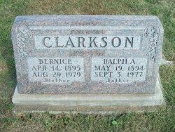 Leoma Bernice Bernice <i>Rummerfield</i> Clarkson