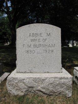 Abbie M Burnham