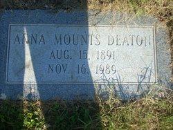 Anna Mounts <i>Mounts</i> Deaton
