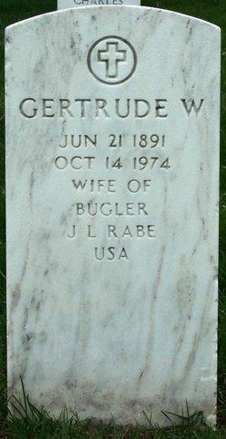 Gertrude Emma <i>Ward</i> Rabe