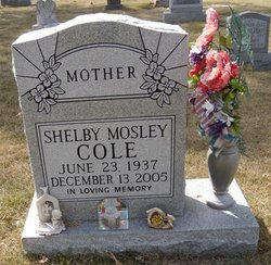 Shelby <i>Mosley</i> Cole
