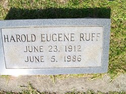 Harold Eugene Ruff