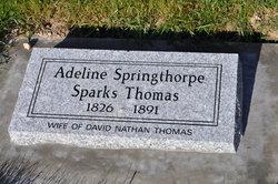 Adeline <i>Springthorpe Sparks</i> Thomas