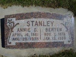 Anna Elizabeth Annie <i>Davis</i> Stanley