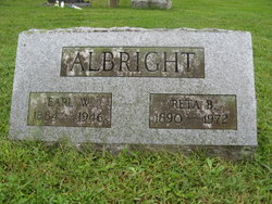 Reta B <i>Eckman</i> Albright