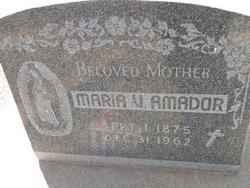 Maria <i>V</i> Amador