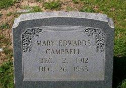 Mary Jane <i>Edwards</i> Campbell