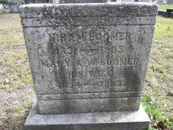 Mary A W <i>Munroe</i> Boomer