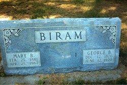 George B Biram
