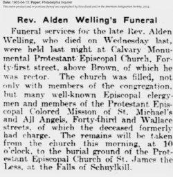 Rev Alden Welling