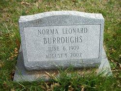 Norma <i>Leonard</i> Burroughs
