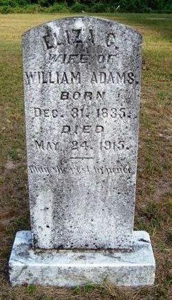 Eliza C. <i>Bigham</i> Adams
