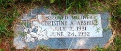 Christine A. Abshire