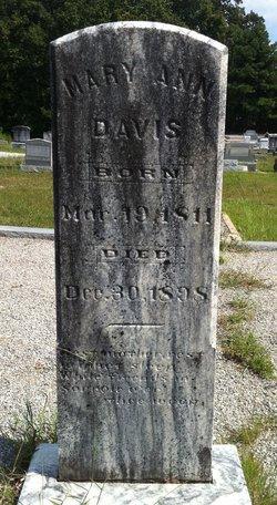 Mary Ann <i>Summers</i> Davis