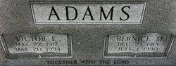 Victor E Adams