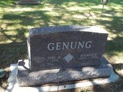 LTC Joel Martin Genung
