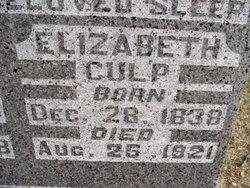 Elizabeth <i>Kashner</i> Culp