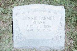 Minnie <i>Farmer</i> Blake