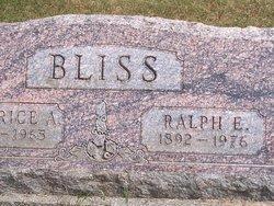 Ralph E. Bliss