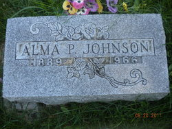 Alma Pauline <i>Olson</i> Johnson