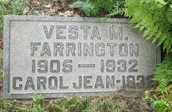 Vesta Marie <i>Fisher</i> Farrington