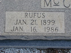 Rufus McClelland
