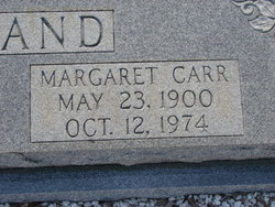 Margaret Maggie <i>Carr</i> McClelland