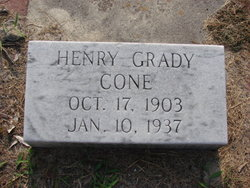 Henry Grady Cone