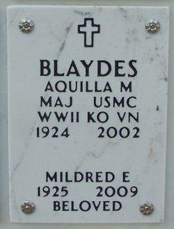 Aquilla M. Blaydes