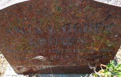 Anna L <i>Ogden</i> Brown