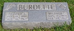 Mildred Catherine <i>Faith</i> Burdette